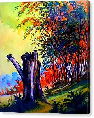 Planeta Verde Canvas Print by Leomariano artist BRASIL