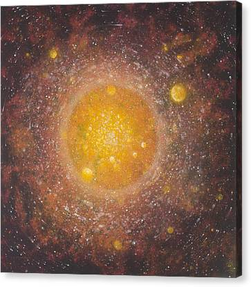 Plasma Pulse Canvas Print by Ed Regensburg