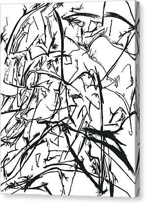 Plasmogamy021 Canvas Print by TripsInInk