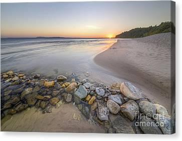 Lakeshore Canvas Print - Platte River Sunrise by Twenty Two North Photography