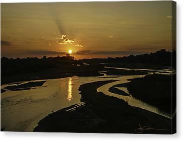 Platte Sunrise 3890 Canvas Print