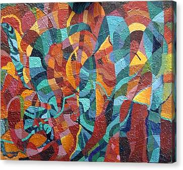 Platyhelminthes Canvas Print by Bernard Goodman