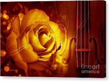 Play A Love Song Canvas Print