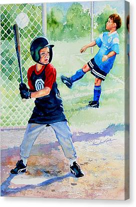 Play Ball Canvas Print by Hanne Lore Koehler
