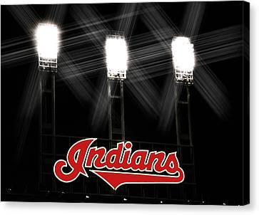 Play Ball Canvas Print by Kenneth Krolikowski