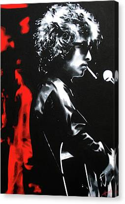 Unrest Canvas Print - Play It Fuckin' Loud by Hood alias Ludzska