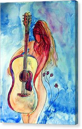 Play Me A Song Canvas Print by Robin Monroe