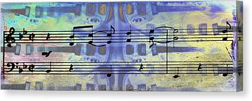Play That Rock And Roll Canvas Print by Bill Cannon