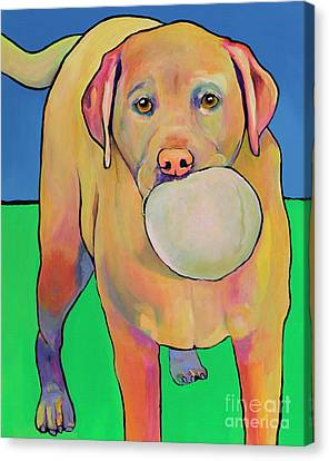 Play With Me Canvas Print by Pat Saunders-White
