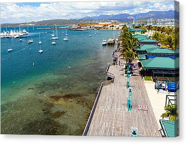 Puerto Rico Canvas Print - Playa De Ponce by George Oze