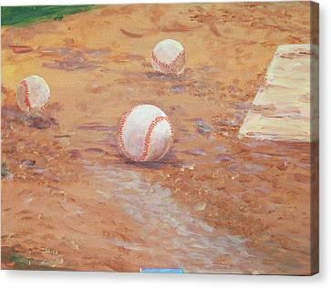 Playball Canvas Print