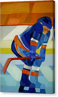 Player 1 Canvas Print by Ken Yackel