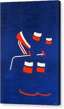 Player 3 Canvas Print by Ken Yackel
