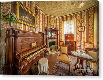 Player Piano Canvas Print by Inge Johnsson