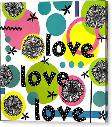 Playful Love Canvas Print