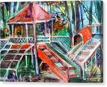 Playground Of The Heart Canvas Print by Mindy Newman