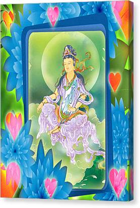 Playing Avalokitesvara 1 Canvas Print