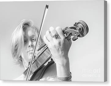 Canvas Print featuring the photograph Playing Me Softly by Bob Christopher
