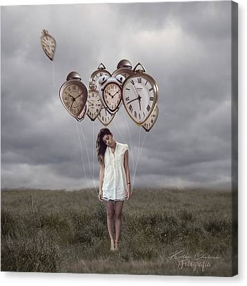Playing With Time Canvas Print