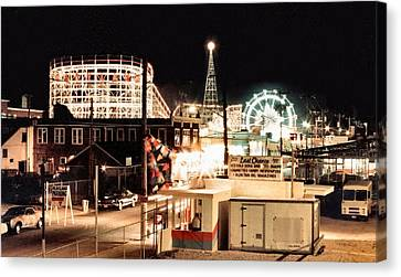 Playland Canvas Print by Bruce Lennon