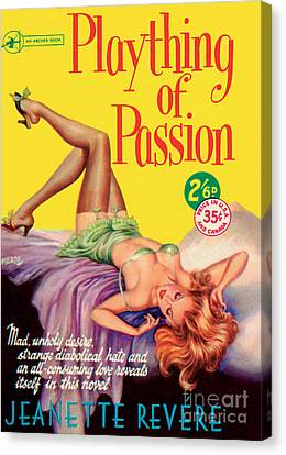 Plaything Of Passion Canvas Print
