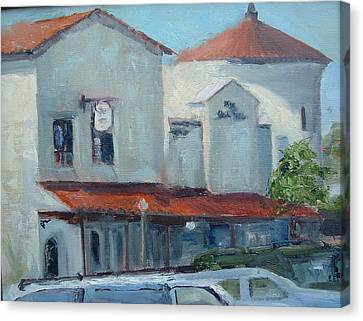 Plaza Del Mar Canvas Print by Bryan Alexander