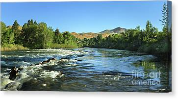 Plaza View Canvas Print by Robert Bales