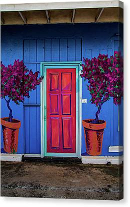 Please Use Other Door Canvas Print