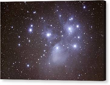 Astronomy Canvas Print - Pleides by Pat Gaines