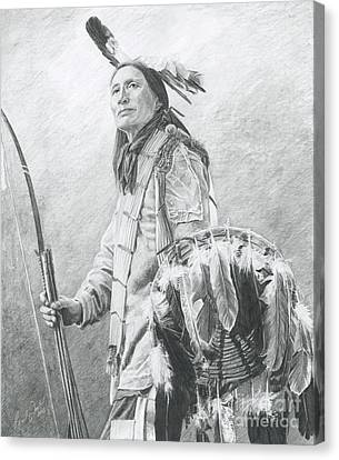 Taopi Ota - Lakota Sioux Canvas Print