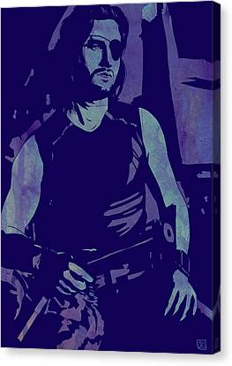 Icon Canvas Print - Plissken by Giuseppe Cristiano