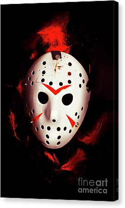 Goalie Canvas Print - Plot Holes From Twisted Tales by Jorgo Photography - Wall Art Gallery