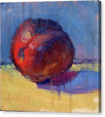 Canvas Print - Plum Pretty by Donna Shortt