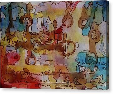 Plumber's Nightmare Canvas Print