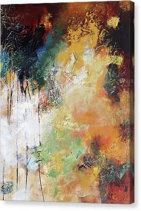 Plush Canvas Print by Elizabeth Chapman