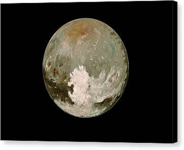 Pluto Planet  Canvas Print by Juan  Bosco