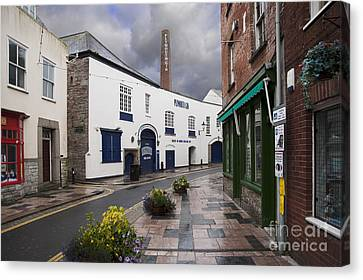 Plymouth Gin Distillery Canvas Print by Donald Davis