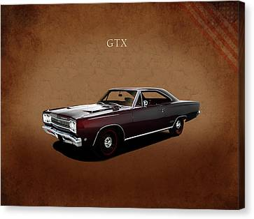 Plymouth Gtx 1968 Canvas Print by Mark Rogan