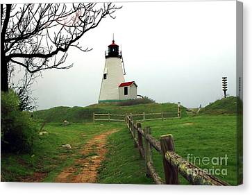 Plymouth Gurnet Lighthouse Canvas Print