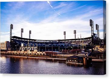 Pittsburgh Pirates Canvas Print - Pnc Park by Paul Scolieri