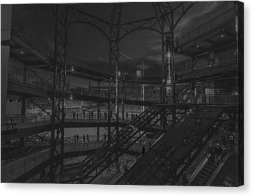 Pnc Park Pittsburgh Pirates  Canvas Print by David Haskett