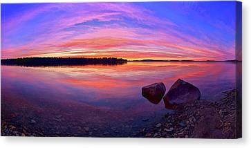 Pocomoonshine Sunset 2 Canvas Print
