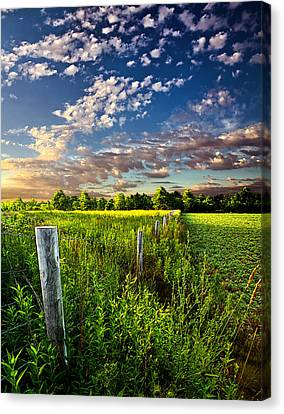 Poems Prayers And Promises Canvas Print by Phil Koch