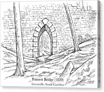 Poinsett Bridge Canvas Print