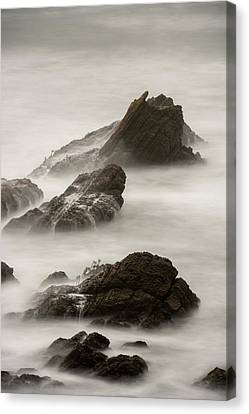 Canvas Print featuring the photograph Point Arena  by Dustin LeFevre