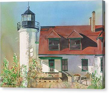 Point Betsie Lighthouse Canvas Print