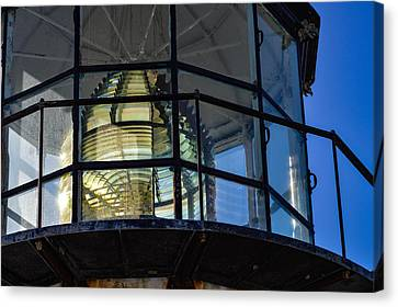 Point Bonita Light House Canvas Print by Miranda Strapason