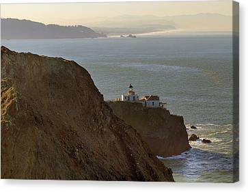Canvas Print - Point Bonita Lighthouse In San Francisco by David Gn