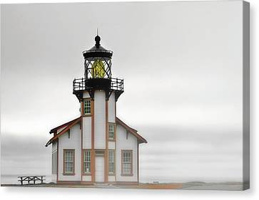 Point Cabrillo Light Station - Mendocino Ca Canvas Print by Christine Till
