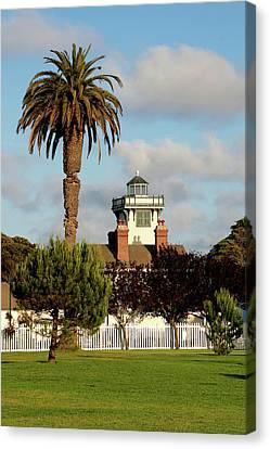 Point Fermin Light - San Pedro - Southern California Canvas Print